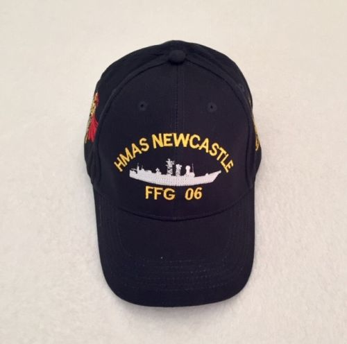 HMAS Newcastle FFG 06 uniform Ball Cap